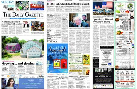 The Daily Gazette – August 19, 2018
