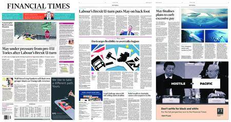 Financial Times UK – August 28, 2017