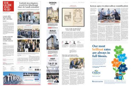 The Globe and Mail – October 16, 2018