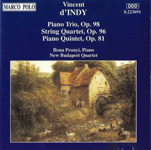 New Budapest Quartet - Vincent D'Indy: Chamber Music (1995)