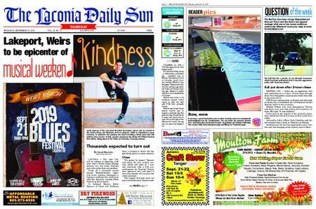 The Laconia Daily Sun – September 19, 2019