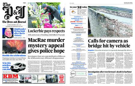 The Press and Journal Moray – December 22, 2018