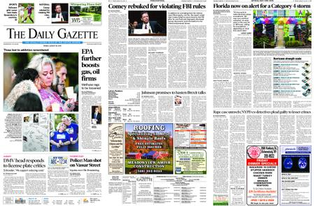 The Daily Gazette – August 30, 2019