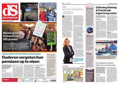 De Stentor - Apeldoorn – 25 september 2017