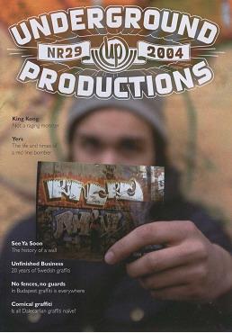 Underground Productions Graffiti Magazine Issue 29