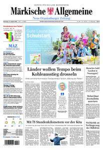 Neue Oranienburger Zeitung - 21. August 2018