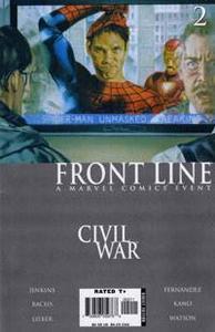 Civil War Front Line Limited Series Vol.1 No.02 Aug 2006