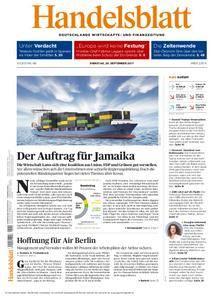 Handelsblatt - 26. September 2017