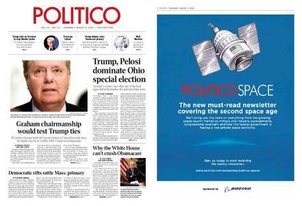 Politico – August 02, 2018