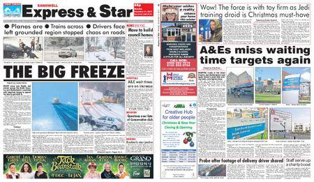 Express and Star Sandwell Edition – December 11, 2017