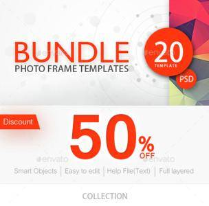GraphicRiver - Photo Frame Template Bundle