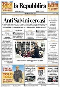 la Repubblica - 31 Dicembre 2019