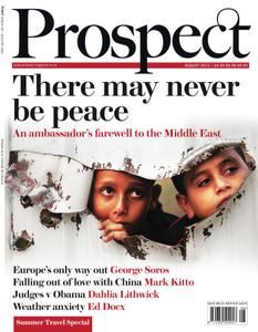 Prospect Magazine - August 2012