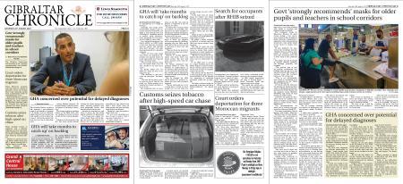 Gibraltar Chronicle – 29 August 2020
