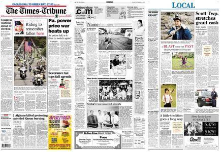 The Times-Tribune – September 13, 2010