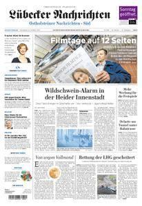 Lübecker Nachrichten Ostholstein Süd - 21. Oktober 2017