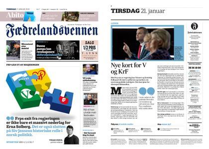 Fædrelandsvennen – 21. januar 2020