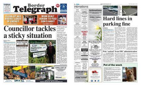 Border Telegraph – August 22, 2018