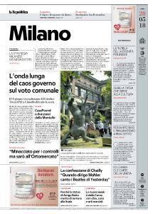 la Repubblica Milano - 28 Maggio 2018