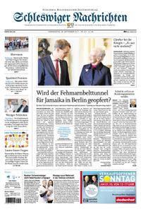 Schleswiger Nachrichten - 28. September 2017