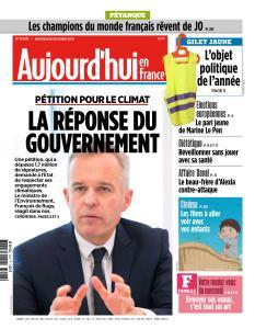 Aujourd'hui en France du Mercredi 26 Décembre 2018