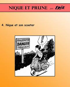 Nique et Prune - Tome 4 - Nique et Son Scooter
