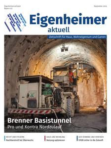 Eigenheimer aktuell – Oktober 2019