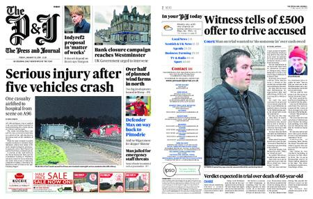 The Press and Journal Moray – January 18, 2019