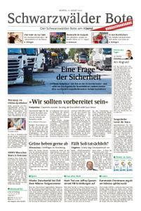 Schwarzwälder Bote Blumberg - 12. August 2019