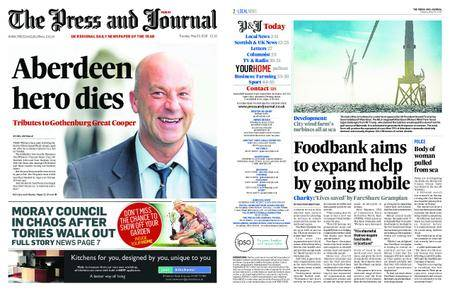 The Press and Journal Moray – May 29, 2018