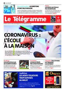 Le Télégramme Auray – 09 mars 2020