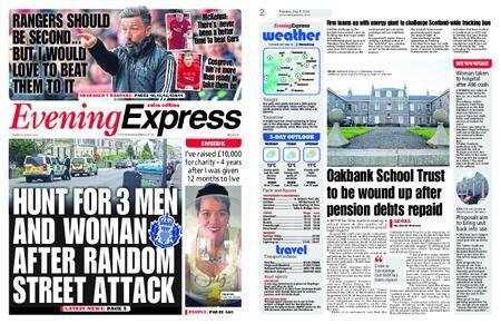 Evening Express – May 08, 2018