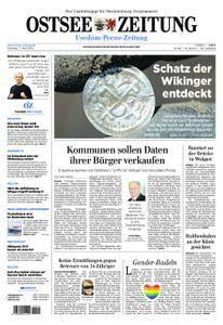 Ostsee Zeitung Wolgast - 17. April 2018