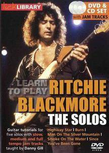 Learn to play Ritchie Blackmore - The Solos [repost]