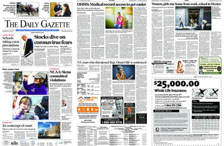 The Daily Gazette – March 10, 2020