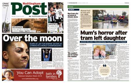 Nottingham Post – October 14, 2019