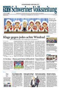 Schweriner Volkszeitung Hagenower Kreisblatt - 04. November 2019