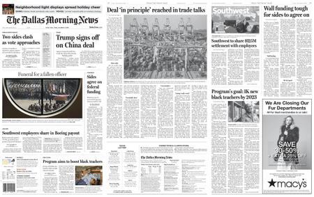 The Dallas Morning News – December 13, 2019