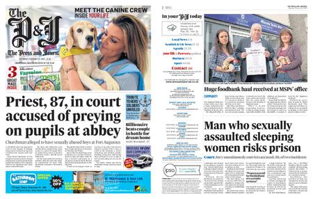 The Press and Journal Moray – February 15, 2020