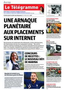 Le Télégramme Auray – 03 mai 2019