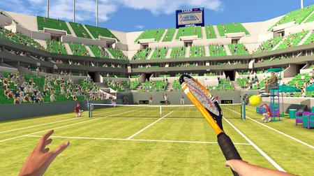 First Person Tennis - The Real Tennis Simulator (2019)
