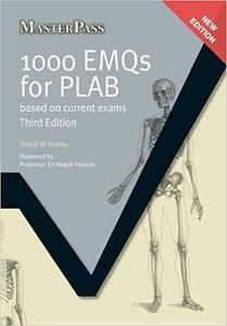 1000 EMQs for PLAB: Based on Current Exams, Third Edition (3rd Edition)