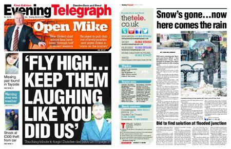 Evening Telegraph First Edition – March 06, 2018