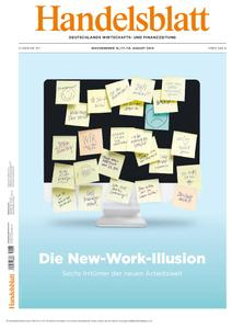 Handelsblatt - 16. August 2019