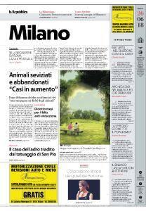 la Repubblica Milano - 26 Giugno 2018
