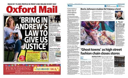 Oxford Mail – August 06, 2020