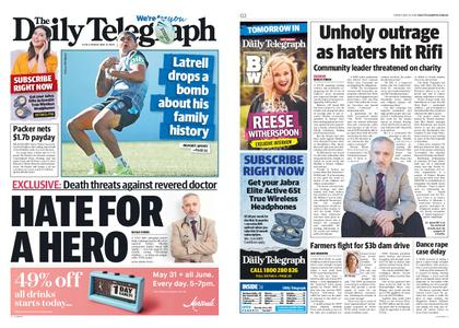 The Daily Telegraph (Sydney) – May 31, 2019