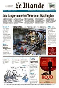 Le Monde du Mercredi 26 Juin 2019