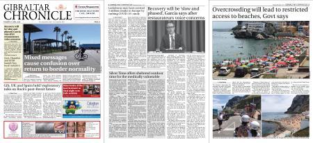 Gibraltar Chronicle – 09 June 2020