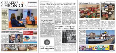 Gibraltar Chronicle – 13 November 2020